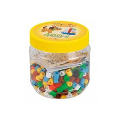 Perles à repasser et plaques en pot