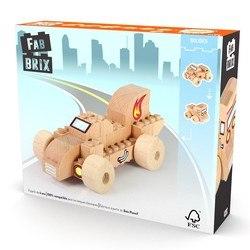Jeu de construction en bois Bolide 22 pièces