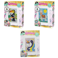 Tableau animal Glitters