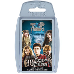 Jeu de cartes Top Trumps Harry Potter