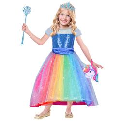 Déguisement Barbie Rainbow 3/5 ans