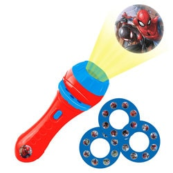 Spiderman - Lampe-torche avec projections - Lexibook
