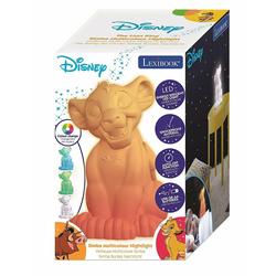 Lexibook-Disney-Le Roi Lion-Veilleuse Simba multicolore avec minuteur