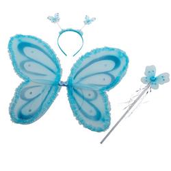 Set déguisement fée bleu