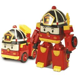 Voiture Robot Transformable  2 en 1 - ROY - ROBOCAR POLI - pompier