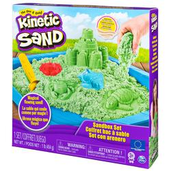 Kinetic Sand - Coffret Chateau et son bac à sable magique à modeler