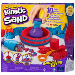 Kinetic Sand - Coffret Sandisfying sable magique à modeler