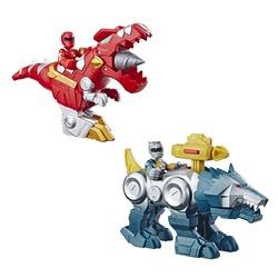 Véhicule Zord et figurine Power Rangers 12 cm