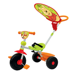Tricycle Winnie l'Ourson avec parasol