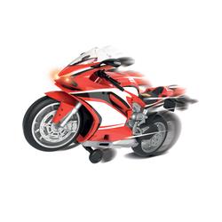 Moto de course sons et lumières