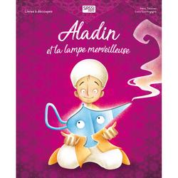 Livre Aladin et la lampe merveilleuse - Découpes lasers