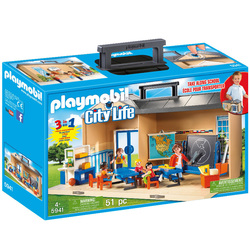 5941 - Playmobil City Life - Salle de classe transportable