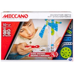 Meccano - Kit d'inventions - Machines à Engrenages