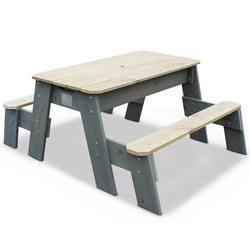 Table sable et eau Aksent avec bancs