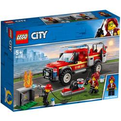 60231 - LEGO® City Town Le camion du chef des pompiers