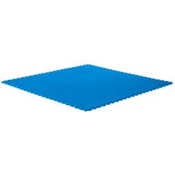 Tapis de jeu bleu carré