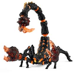Figurine scorpion de lave