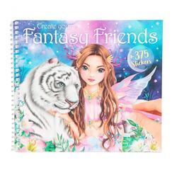 Album à colorier Create your Fantasy Friends