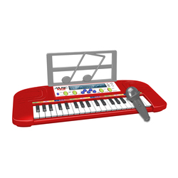 Clavier 37 touches rouge avec micro