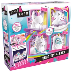 Coffret Déco figurines DIY 4-pack