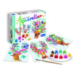 Loisirs créatifs Aquarellum Les cerfs enchantés