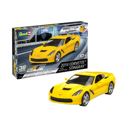 Maquette voiture Corvette Stingray 2014