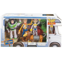 Disney Toy Story 4 - Pack Bus de 6 figurines