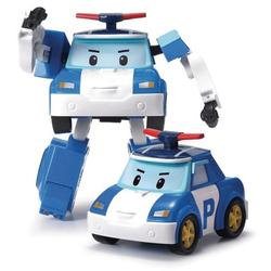 Voiture Robot Transformable  2 en 1 - POLI - ROBOCAR POLI -police