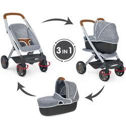 Landau bébé confort 3 en 1 gris