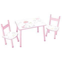 Table avec chaises licorne