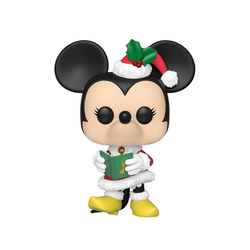 Figurine Minnie spécial Noël 613 Disney Funko Pop