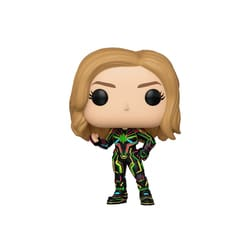 Figurine Captain Marvel Neon Suit 516 Funko Pop