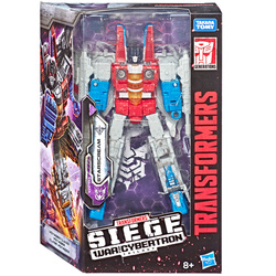 Figurine Starscream transformable Deluxe - Transformers Siege War for Cybertron