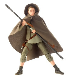 Figurine Rey Island Journey Black Series 15 cm - Star Wars