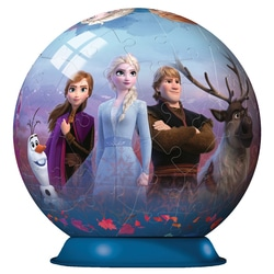 Puzzle 3D Rond 72 pièces La Reine des Neiges 2