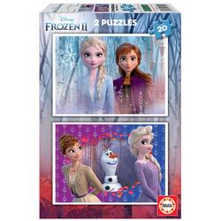 Puzzles 20 pièces Disney La Reine des Neiges 2