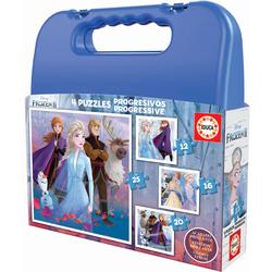 Puzzles progressifs 12 à 25 pièces Disney La Reine des Neiges 2