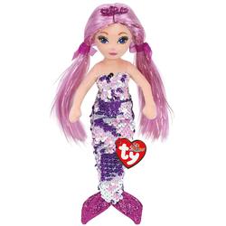 Flippables - Peluche sequins Lorelei la sirène violette