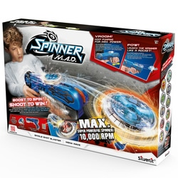 Single blaster gun et toupie spinner M.A.D