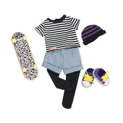 Tenue pour poupée Our Generation - Ensemble skate