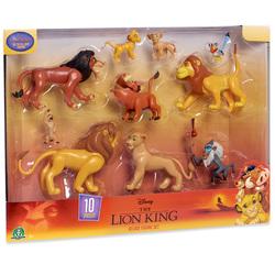 Disney Le Roi Lion - Coffret 10 Figurines 8 cm et Accessoires