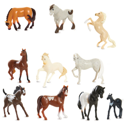 Spirit - Coffret Collection 10 Mini Chevaux