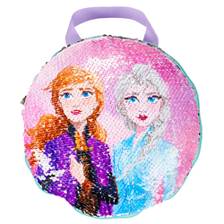 Coussin secret sequins La Reine des Neiges 2