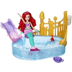 Disney Princesses - Poupée Ariel La Petite Sirène et sa lagune étincelante