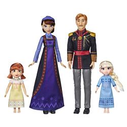 Poupées Pack Famille Royale de Elsa et Anna La Reine des Neiges 2