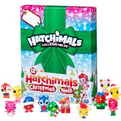 Hatchimals de Noël 12 figurines