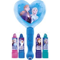 Set baumes à lèvres et miroir lumineux La Reine des Neiges 2