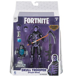 Fortnite - Figurine Legendary Series Skull Trooper Purple Glow 15 cm
