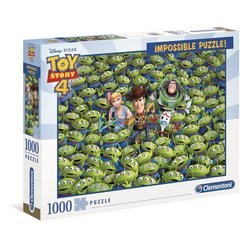 Puzzle 1000 pièces - Impossible Toy Story 4