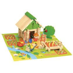 La maison du jardinier en bois 50 pièces